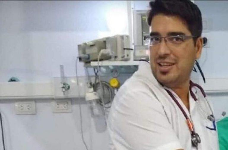 Daniel Basualdo, el primer médico que falleció porcovid-19 en Córdoba