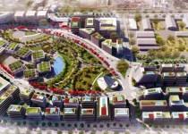 En un predio de 23 hectáreas. La construcción contempla 446 mil m2 cubiertos entre espacio corporativo, retail, l umbral .