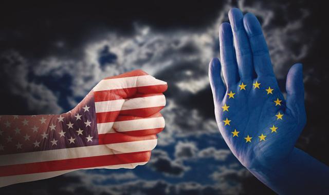 Estados Unidos y la Unión Europea tensan aún más sus deterioradas relaciones
