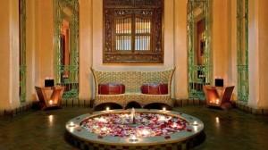 HAMMAN. El típico spa marroquí del   Hotel Le Meridien N'Fis es un placer real.