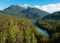 EXTENSO. El Parque Nacional Los Alerces tiene 263.000 hectáreas de superficie pertenecientes a la ecorregión de bosques patagónicos.
