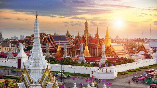 BANGKOK. Es una de las ciudades que obtuvo mayor actividad de búsquedas.