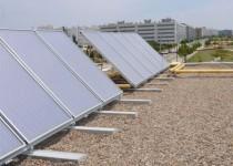 """ENERGÍAS SUSTENTABLES. El nuevo """"edificio escuela"""" tendrá generación propia de energía eólica y solar; también contará con una gestión automatizada de la ambientación y la seguridad gracias a la domótica aplicada."""