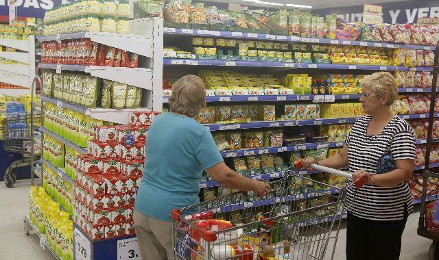 Supermercado Gondola Compras Consumo