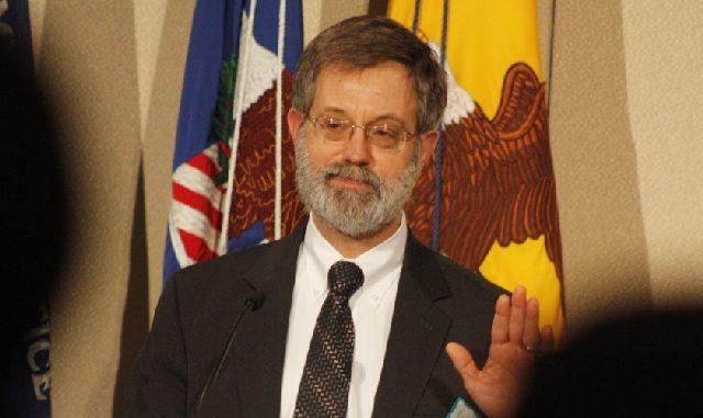 Apoyo. Edwin Kneedler, abogado del Departamento de Justicia de los EEUU, expuso ante la Corte la posición de apoyo del gobierno de Obama a Argentina.