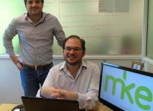 Socios fundadores de MKE (de izq. a der.). Marcos Marchetti y Eduardo Romero.