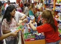 JUGUETERÍAS. En la ciudad de Córdoba vendieron 5,5% más que el año pasado.