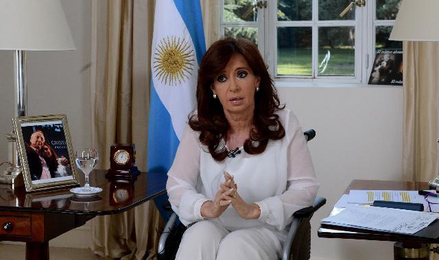 """Cristina habló de """"extorsión"""" y anunció amplia reforma a Inteligencia"""