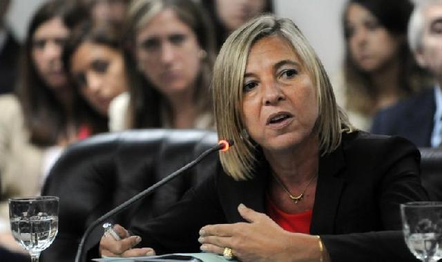 Gabriela Vásquez, presidenta del Consejo de la Magistratura de la Nación.