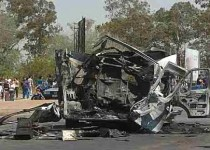 TRAGEDIA. Ocurrió el 26 de septiembre de 2006 en avenida Sabatini al 2.600.