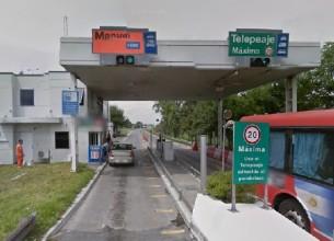 SINIESTRO. Para evitar la colisión con un vacuno, en la ruta nacional Nº 7, el automovilista volcó.