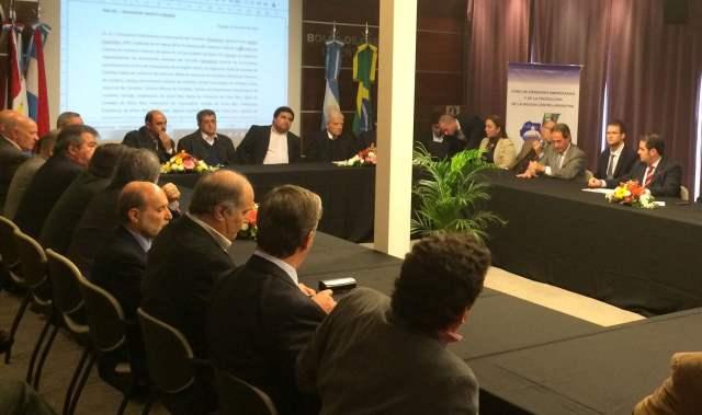 La Red del Corredor Bioceánico fijó agenda con miras a Coquimbo