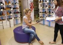 BALANCE NEGATIVO. La venta de calzado de producción nacional descendió 40% este año, en comparación con 2015.