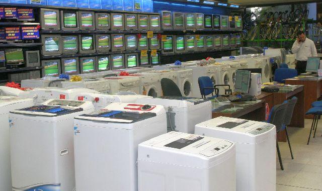 ELECTRODOMÉSTICOS. Las ventas de artículos electrónicos y del hogar seguieron estando al tope, impulsadas por las promociones con tarjetas de crédito.