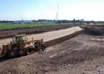 COMPLETO. Para la finalización de la avenida restan 17 kilómetros.
