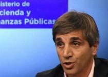 LUIS CAPUTO. Ministro de Finanzas.