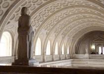 Tribunales l Pasos Perdidos Estatua
