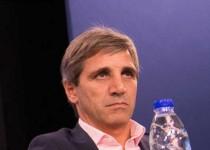 Luis Caputo. El ministro de Finanzas realizó una conferencia de prensa.