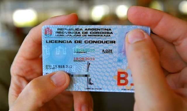 licencia conducir