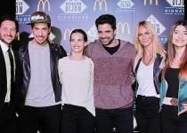 LANZAMIENTO EXCLUSIVO. En el evento, que ocurrió el lunes pasado en Buenos Aires, se hicieron presentes distintos actores.