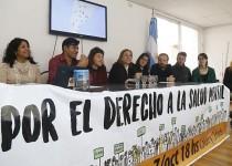 El colectivo que organiza la 3ª Marcha por El Derecho a la Salud Mental brindó ayer una conferencia de prensa en el Colegio de Psicólogos de la Provincia de Córdoba