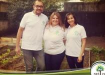 EQUIPO. Paula Bortoli (al medio), junto a sus colaboradores Ana Contreras y Juan Manuel González.