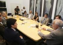 ENCUENTRO. El ministro de Justicia, Luis Angulo,  convocó a jueces y fiscales del fuero Penal Juvenil.