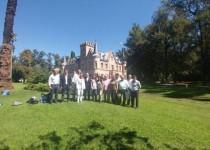 CUMBRE. Empresarios del turismo rural se reunieron en la Estancia La Candelaria.