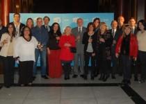 ANIVERSARIO. Autoridades e integrantes del equipo IES celebraron en la Capilla del Buen Pastor.