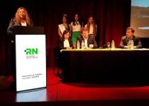 COMITIVA. La delegación de la provincia de Río Negro contó con funcionarios y referentes de los principales destinos turísticos de esa región