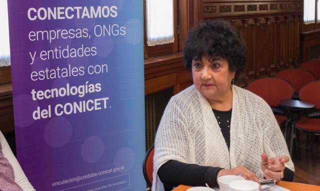 Dora Barrancos. Una de las directoras del Conicet