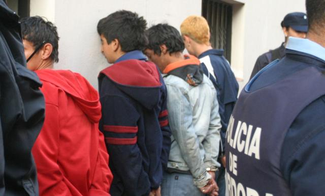 menores detenidos