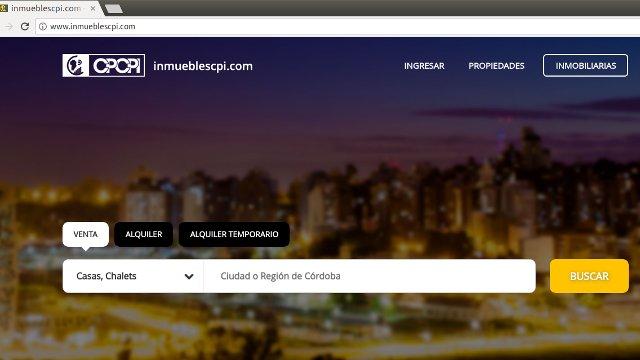 web inmobiliarios
