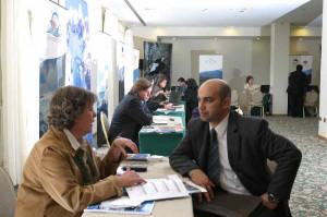 ANUNCIO. Autoridades y directivos de  entidades turísticas participaron del encuentro.