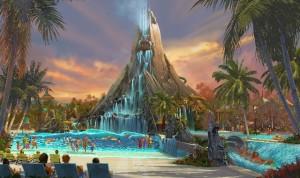 REVOLUCIONARIO. Volcano Bay redefinirá  lo que significa un parque acuático.