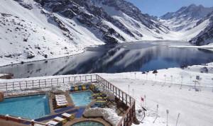 AVALANCHA DE PLACER El centro de esquí  se destaca por sus vistas maravillosas