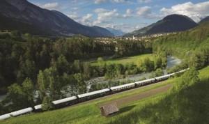 MÁS ALTO. El tren  recorre las planicies más altas de los  Andes en Perú.
